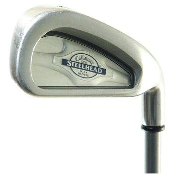 Callaway STEELHEAD X-14 Iron Set Preowned Clubs