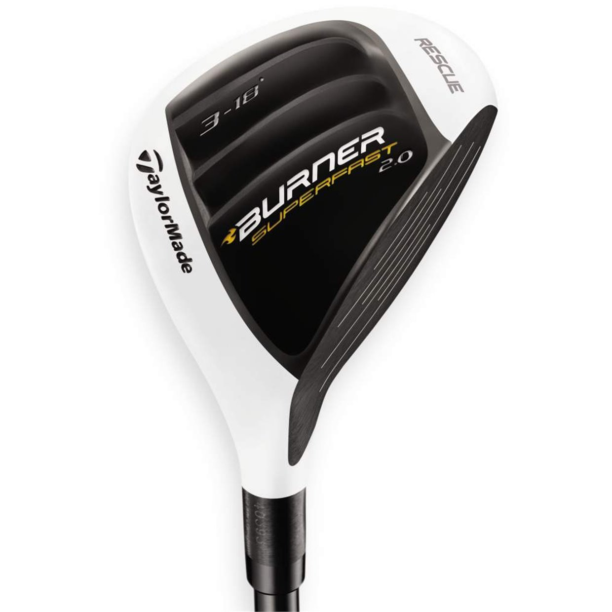 TaylorMade Burner SuperFast 2 0 Rescue 3H Hybrid 18° Used Golf Club Left  Hand