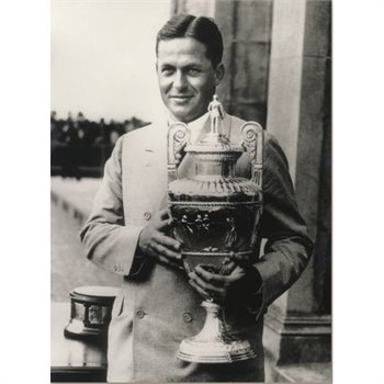 Golf Links To The Past Bobby Jones:  British Amateur Photo Media
