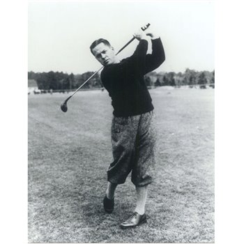 Golf Links To The Past Bobby Jones:  The Perfect Swing Photo Media