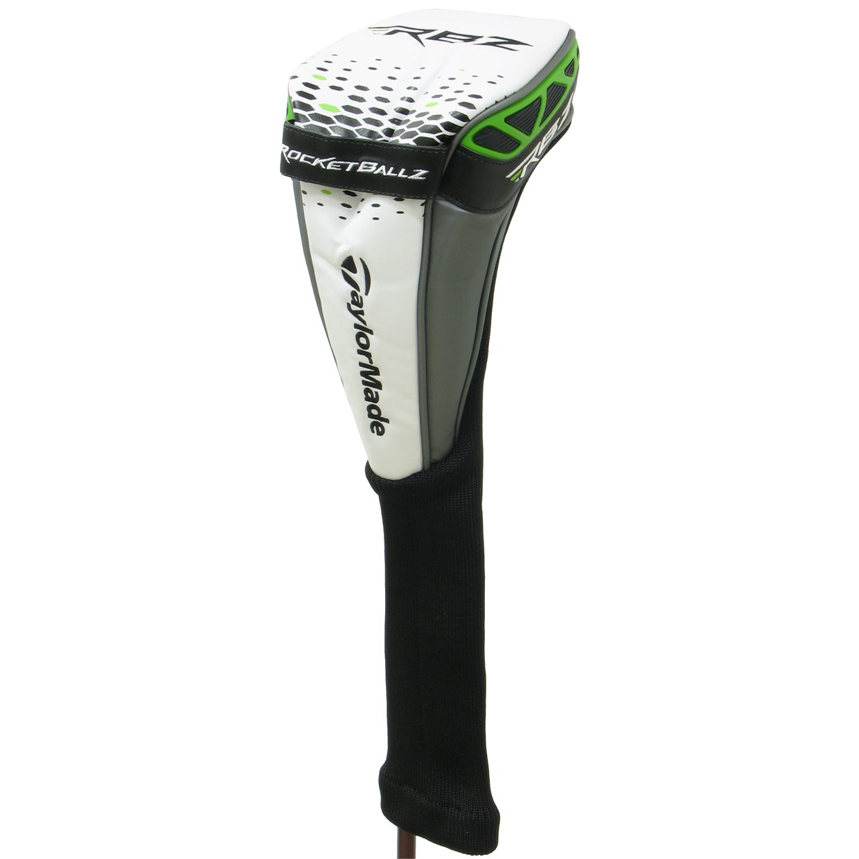 Taylormade Rocketballz Driver >> Preowned Taylormade Rocketballz Driver White Black Slime Headcover