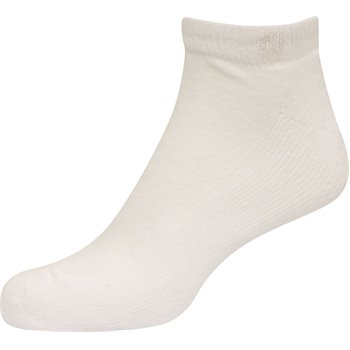 FootJoy ComfortSof Sportlet White 3-Pack Socks Apparel