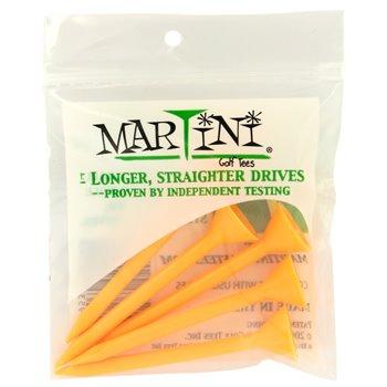 Martini 3 1/4 Orange Golf Tees Accessories