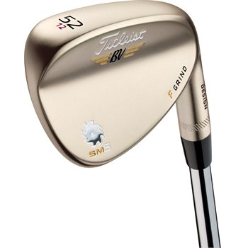 Titleist Vokey SM5 Gold Nickel F Grind Wedge Preowned Clubs