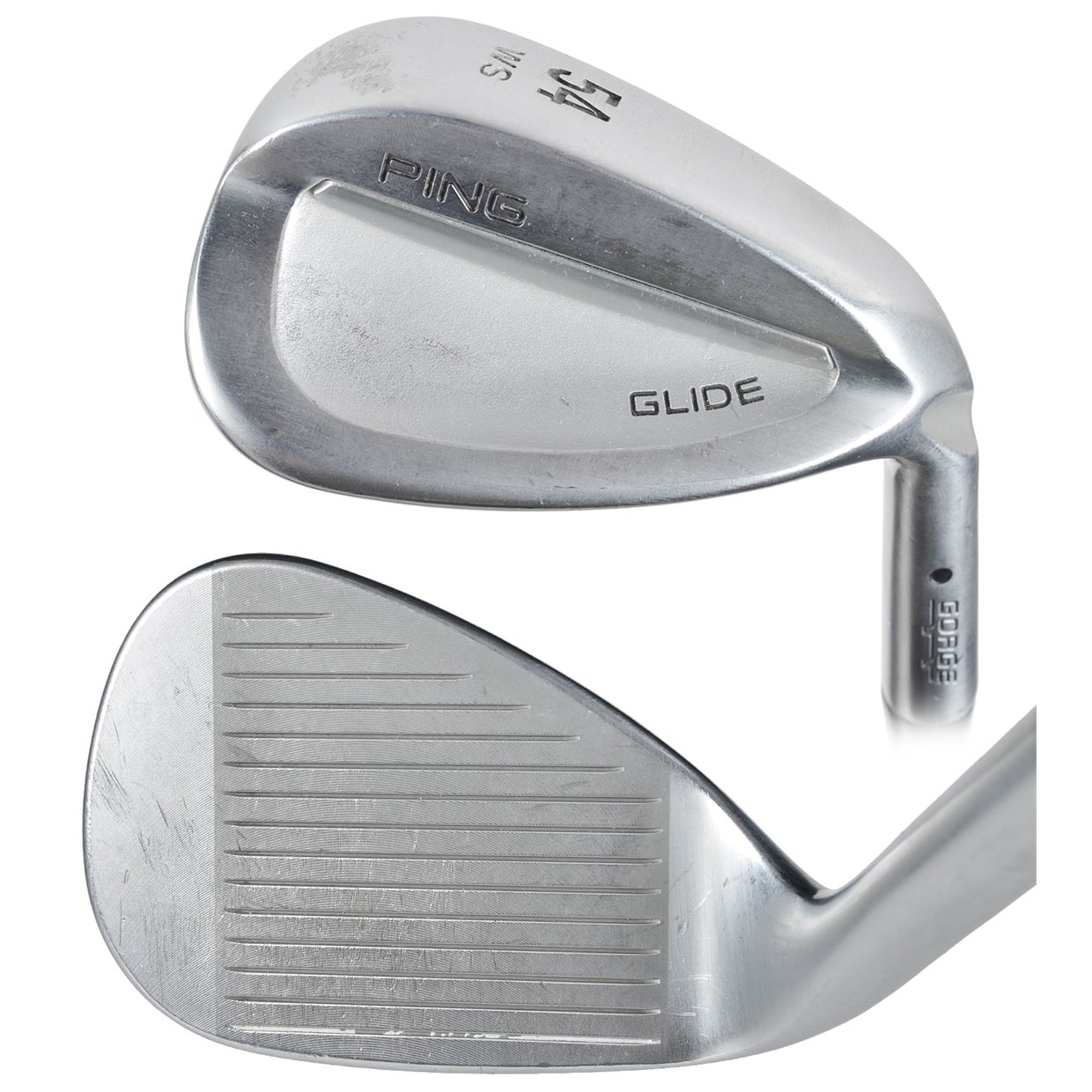 Ping Glide Ws Wedge Sand Wedge 56 Degree Used Golf Club At