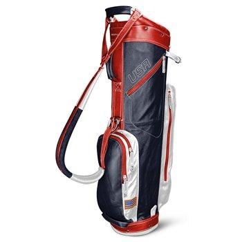 Sun Mountain Leather Cart Golf Bags