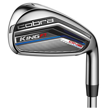 Cobra King F7 One Length Iron Set Preowned Clubs