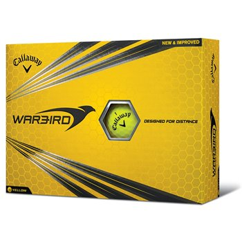 Callaway Warbird 2017 Yellow Golf Ball Balls