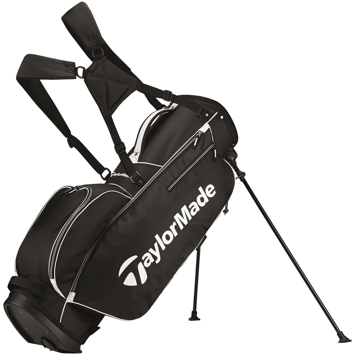 0ae6a62a865 TaylorMade 5.0 Black White Stand Bag