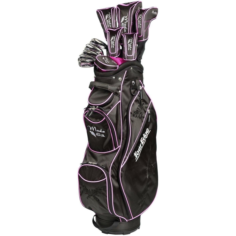 Las Tour Edge Moda Silk Black Hot Pink Complete Set Club Golf