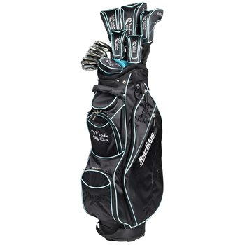 Tour Edge Moda Silk Black/Sea Green Club Set Clubs