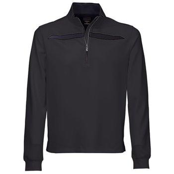 Greg Norman Fashion ¼ Zip Mock Outerwear Apparel