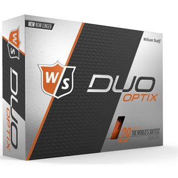 Wilson Staff Duo Soft Optix Orange Golf Ball Balls