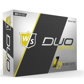 Wilson Staff Duo Soft Optix Yellow Golf Ball Balls