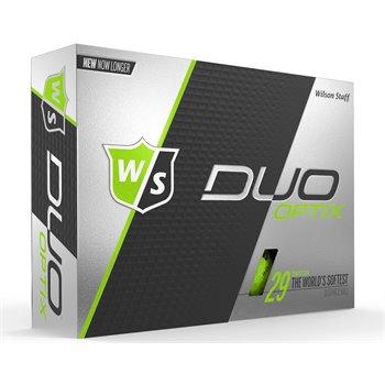Wilson Staff Duo Soft Optix Green Golf Ball Balls
