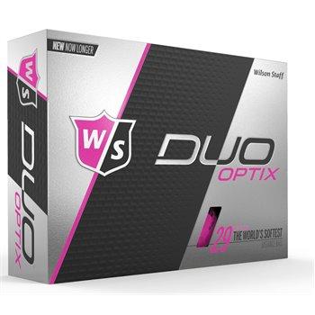 Wilson Staff Duo Soft Optix Pink Golf Ball Balls