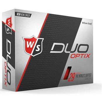 Wilson Staff Duo Soft Optix Red Golf Ball Balls