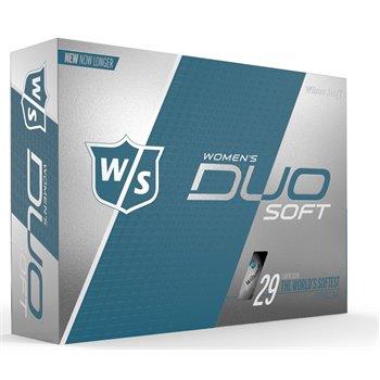 Wilson Staff Duo Soft Optix White Golf Ball Balls
