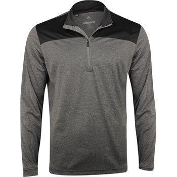 Adidas Lightweight UPF ¼ Zip Outerwear Apparel