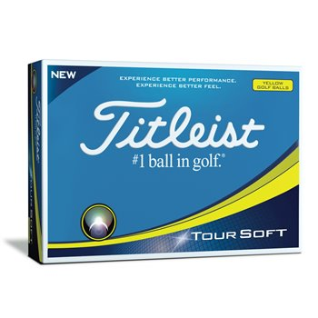 Titleist Tour Soft Yellow Golf Ball Balls
