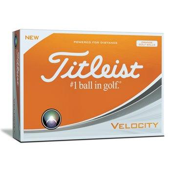 Titleist Velocity Orange Golf Ball Balls