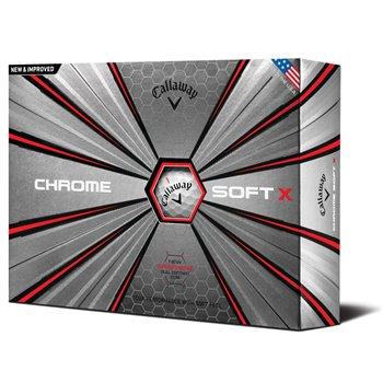 Callaway Chrome Soft X 18 Golf Ball Balls