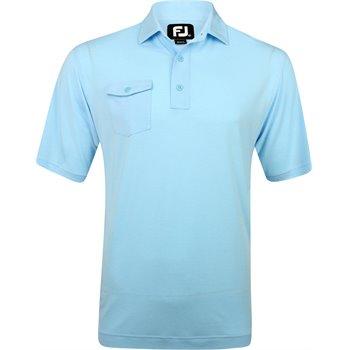 FootJoy Prescott ProDry Performance Spun Poly Chest Pocket Shirt Apparel