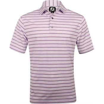 FootJoy Breckenridge Lisle Space Dye Stripe Shirt Apparel