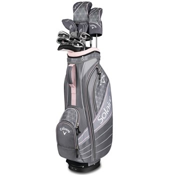 Callaway Solaire 18 11-Piece Cherry Blossom Club Set Clubs