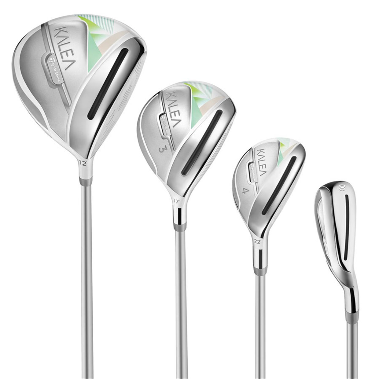 on feet shots of shop new high quality Ladies TaylorMade Kalea Ultralight 10 Piece Complete Set Club Set Golf Club