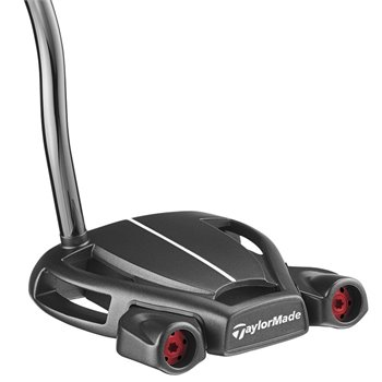 TaylorMade Spider Tour Black Double Bend Putter Preowned Clubs
