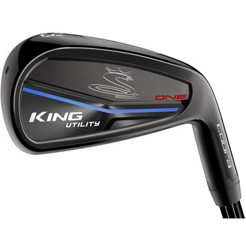 Cobra King Utility One Black Hybrid Preowned Clubs
