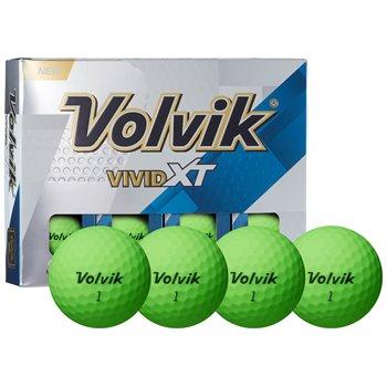 Volvik Vivid XT Matte Green Golf Ball Balls