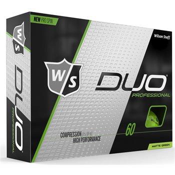 Wilson Staff Duo Pro Matte Green Golf Ball Balls
