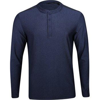 Adidas adiCross Transition Mesh Stripe L/S Henley Shirt Apparel