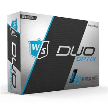Wilson Staff Duo Soft Optix Blue Golf Ball Balls