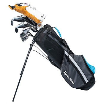 TaylorMade Rory Jr 8-Piece Blue Club Set Clubs