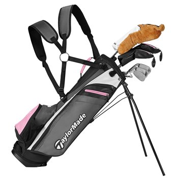 TaylorMade Rory Jr 8-Piece Pink Club Set Clubs