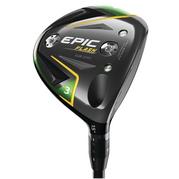 Callaway Epic Flash Sub Zero Fairway Wood Clubs