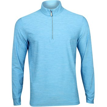 Greg Norman Heathered ¼ Zip Mock Outerwear Apparel