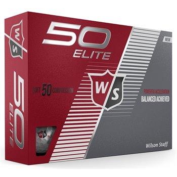 Wilson Staff Fifty Elite Golf Ball Balls