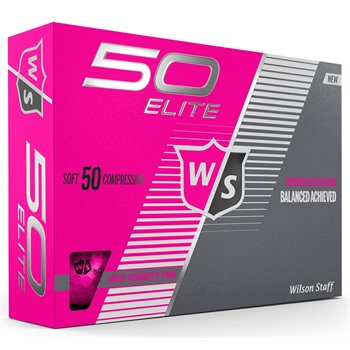Wilson Staff Fity Elite Pink Golf Ball Balls