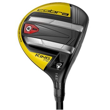 Cobra King F9 SpeedBack Black Yellow Fairway Wood Clubs