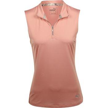 Puma Sleeveless Mock Shirt Apparel
