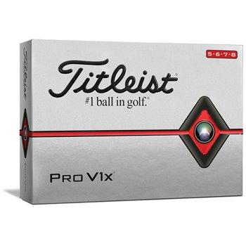 Titleist Pro V1x High Numbers Golf Ball Balls