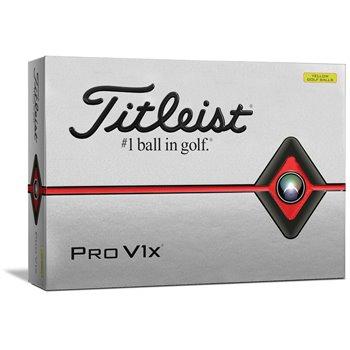 Titleist Pro V1x Yellow Golf Ball Balls