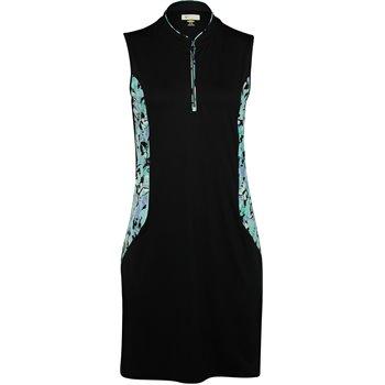 Greg Norman Chrysalis Sleeveless Mandarin Collar Dress Apparel
