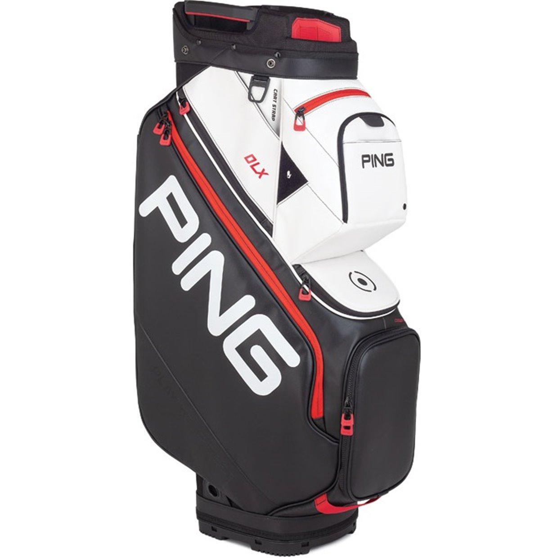 Ping Dlx 2019 Cart Golf Bag Black White