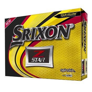 Srixon Z-Star 6 Tour Yellow Golf Ball Balls