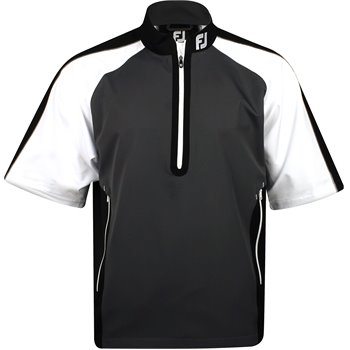 FootJoy Tour Logo Sport Short Sleeve Windshirt Outerwear Apparel